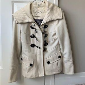 Guess Off-white Fall/Winter jacket, size XS. GUC